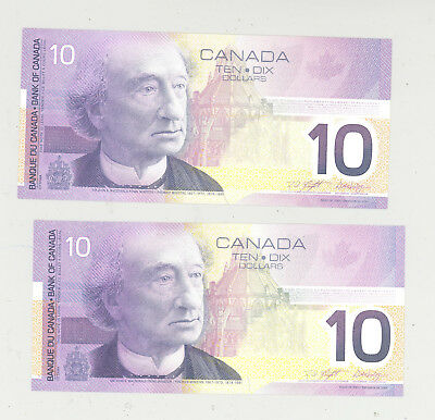 Canada dollars Unused currency bank Notes
