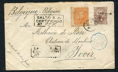 (OC369) Argentina cover 1891 Ligne to Yvoir uprated