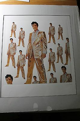 ELVIS Presley Orig Art Album Print Matted Special Sale Item!