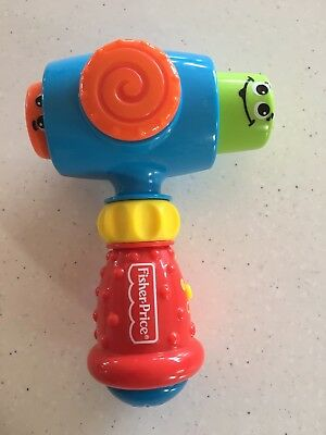 Fisher Price Brilliant Basics - Pound & Giggle Hammer. Collect Or Post