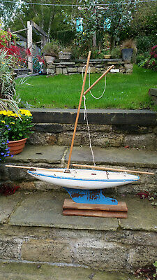 """Pond Yacht by Star Productions of Merseyside. Model no SY/6 21"""""""