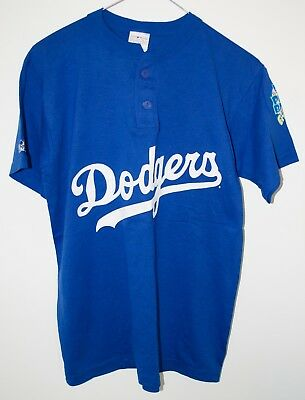 LA Dodgers Majestic 2 Button Youth XL Jersey Major League Baseball