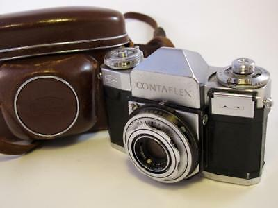 Zeiss Ikon Contaflex ll with Case - Display or Repair