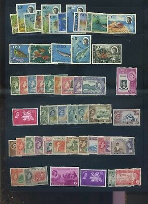 British commonwealth mid period MH collection