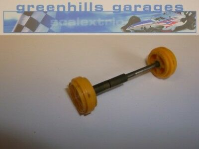 Greenhills Scalextric Lotus 1961 Front Axle and wheels with brass bushes C63 ...