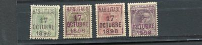 (OC402) Puerto Rico classic MLH stamps all Ant except 20c