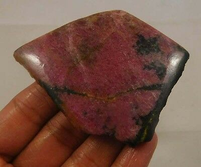 250 Cts. 100% Natural Free From Rhodonite Slab Rough Minerals Specimen SNG751