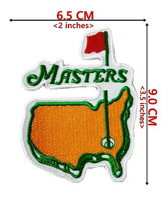 Masters Golf Sports patch Logo Embroidery iron on,Sew on Clothes