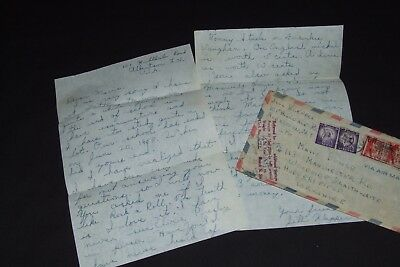 ELVIS PRESLEY original letter dated 1958 mentions Elvis and Frankie Vaughan