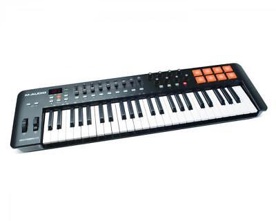 Intuitiver Keyboard Controller M-Audio Oxygen 49 2014 MK4 DJ - inkl. Software