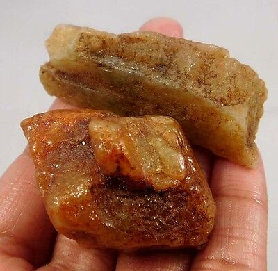 325 Cts. 100% Natural Free From Yellow Berly Lot Rough Minerals Specimen A54