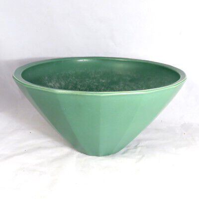 """Keith Murray for Wedgwood Green Glazed 10"""" bowl"""