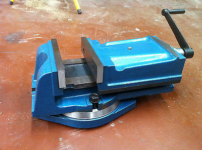 (Heavy Duty) Precision Milling Vice machine vice with swivel base - 200mm