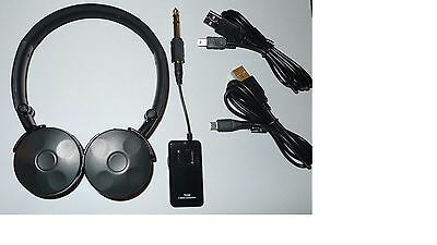 Metal Detecting - Wireless Headphones - 2.4Ghz - No Delay/lag  - No Charger