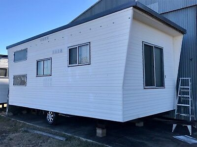 Viscount Cabin on wheels. Caravan donga container Tiny House Granny Flat
