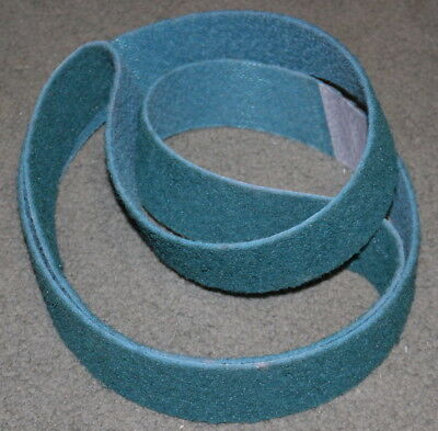"2""x 72"" Surface Conditioning Belt  Very Fine Grade (Blue) - Industrial Grade"