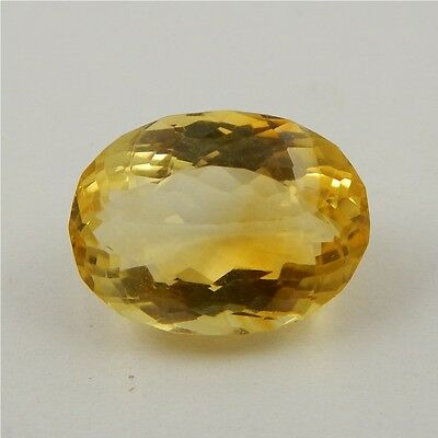 22.6 cts Natural Yellow Citrine Gemstone Beautiful Loose Cut Faceted R#260-21