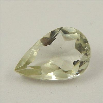5 cts Natural Green Amethyst Gemstone Must See Loose Cut Faceted R#192-8