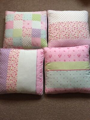 4 ditzy/vintage cushion covers