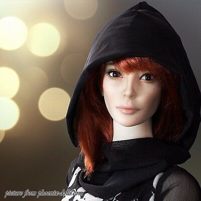 "New Phoenix Dolls BJD doll head ""Elle"" 1/3"