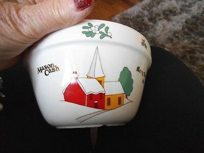 Mason Cash Christmas 1992 Pudding Bowl