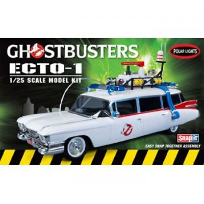 Ghostbusters Ecto-1 Snap Model Kit 1:25 Scale - New