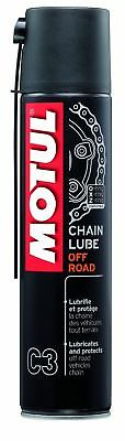 Motul CHAIN LUBE OFF ROAD C3 Lubricant off road motorcycle chains 400ml Aerosol