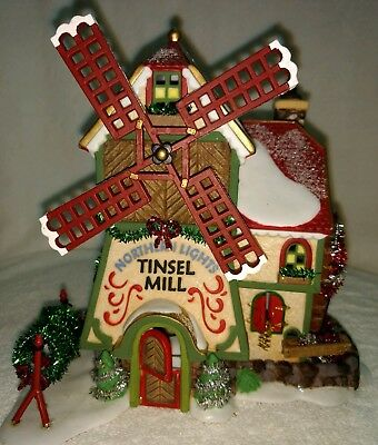 Dept 56 Department 56 North Pole Series  Northern Lights Tinsel Mill