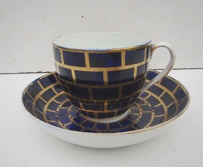 Old Derby Cup & Saucer c1806-25