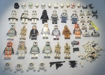 Lego Star Wars Minifigures Job Lot and spare parts etc