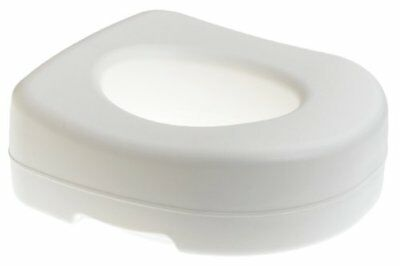 Elevated Raised Toilet Seat Slip Resistant Rubber Pads Medical Disability Aid