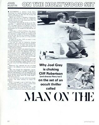 Pp72/12P20 Joel Grey In Man On The Sing Article & Picture(S)