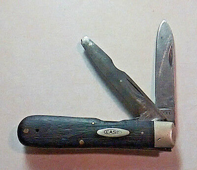 Vintage 1965-1969 Case Xx Usa 12031L Two Blade Electricians Knife