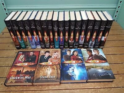Collection 22 BBC Doctor Who Hardback Books  featuring Tennant & Eccleston