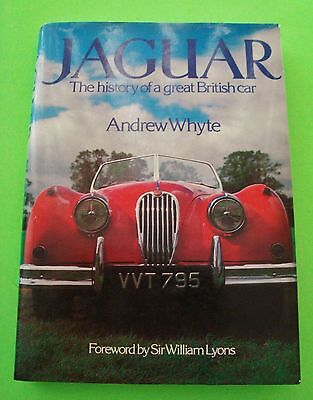1981 JAGUAR - HISTORY OF A GREAT BRITISH CAR wow H-C w/ DJ by Andrew Whyte Xlnt+
