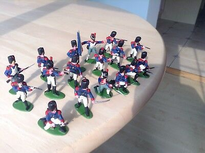 Vintage AIRFIX  1/32 Waterloo French  Infantry