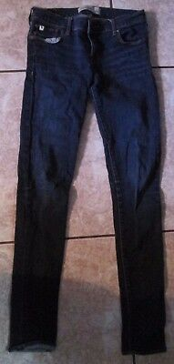 Girl's ABERCROMBIE blue jeans size 16