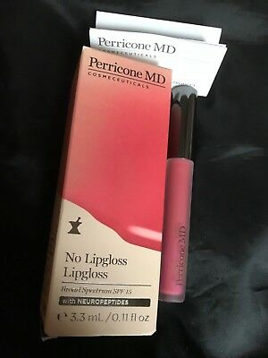 Perricone M.d. No Lipgloss Lipgloss With Neuropeptides Brand New In Box