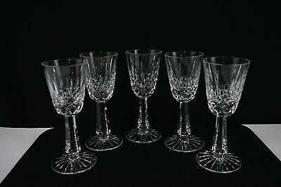 Galway Crystal Glass Clifden Wine  - Set Of 5