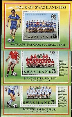 Swaziland QEII 1983 Football Tour SG.MS430 (3) MNH