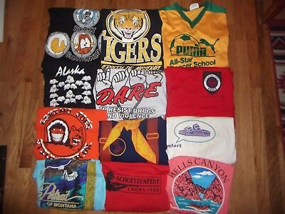 Vintage Lot 42 Sports Beer Novelty Disney T-Shirt Shirts 70's 80's 90's MOD EMO