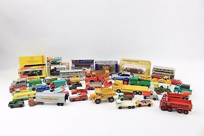 Large Collection of MIXED Die-Cast Toys Inc. Various Designs & BOXED MATCHBOX