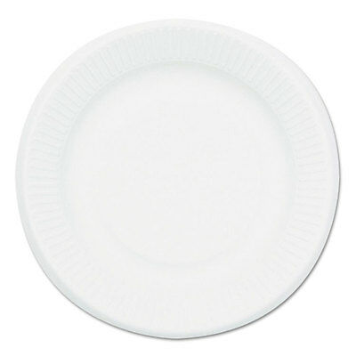 NatureHouse Compostable Sugarcane Bagasse 6 in Plate Round White 1 000/Carton
