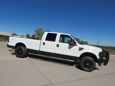 2010 Ford F-250 XL 2010 Ford F-250 Crew Cab Diesel 4x4 XL Leather Tow Ready Custom DPF Delete V8