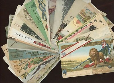 18 Old Military Postcards~Italy~Fanteria,Regimental,Artillery,Army Telegraph