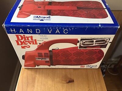 Vintage Dirl Devil Vaccuum Complete With Box-Works
