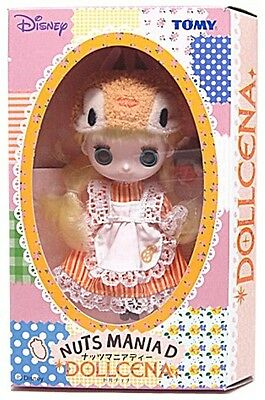 Tomy Disney Dollcena Nuts Maniad Doll Girl Figure Japan Exclusive Very RARE