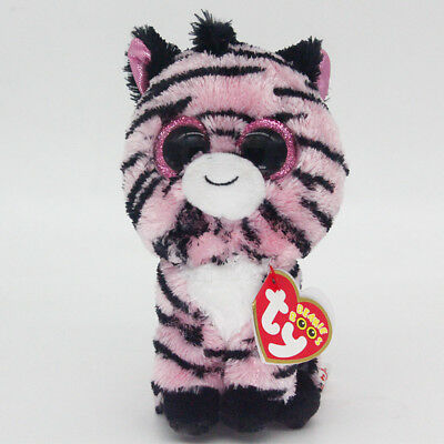 "6"" Ty Beanie Boos Zoey Stuffed Plush Toy Soft Animal Toy Boys&Girls Stuffed Doll"