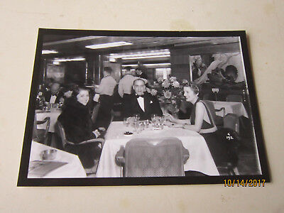 Original Photograph Of Rufus Le Maire (Famous Casting Dir) Onboard Queen Mary