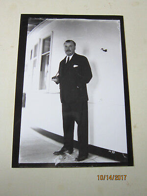 Original Photograph Of  Nigel Bruce On Board Rms Queen Mary Of Cunard